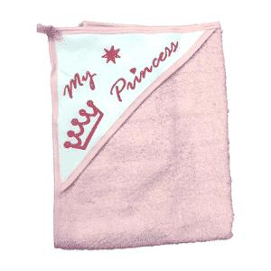 מגבת קפוצ'ון עבה במיוחד – נסיכה ורוד