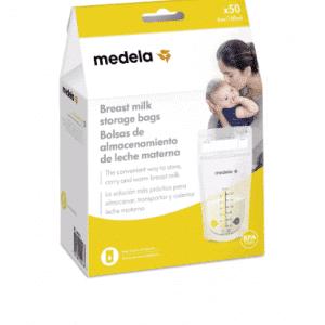 50 שקיות לאחסון חלב- מדלה
