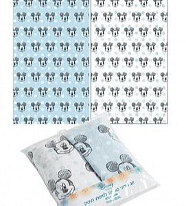 זוג סדינים למיטת תינוק ומעבר מיקי – דיסני