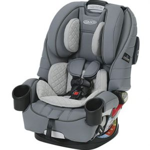 כסא בטיחות פוראוור טרושילד 4EVER TRUESHIELD אפור GRACO
