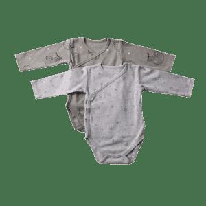 זוג בגדי גוף עצלן מיננה