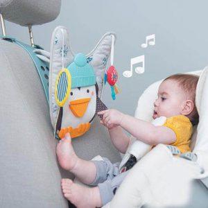 פינגווין מוזיקלי לרכב כולל שלט
