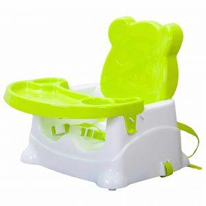 מושב הגבהה דובי ירוק – מיה בייבי