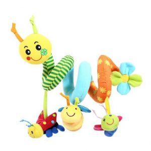 ספירלה לעגלה – Happy Bug Activity Spiral ביבה טויס Biba Toys