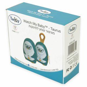 מוניטור שמע לתינוקות טאורוס – Watch My Baby™ Monitor – Taurus טוויגי Twigy