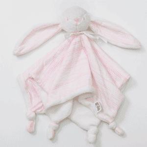 בובת שמיכי לתינוק ורוד בהיר