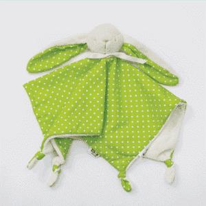 בובת שמיכי לתינוק ירוק